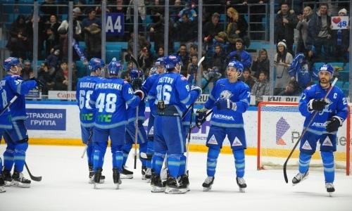 Сколько очков осталось набрать «Барысу», чтобы выиграть дивизион КХЛ