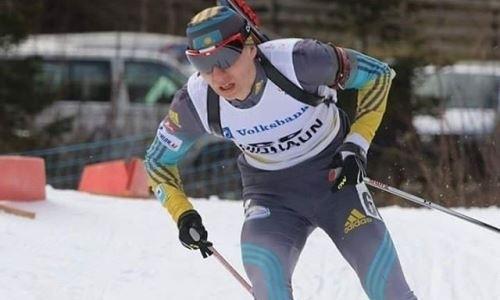 Казахстанские биатлонисты — 19-е в синглмиксте этапа Кубка мира