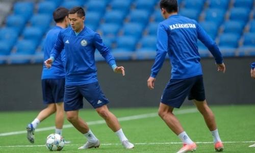 Расширенный состав сборной Казахстана на товарищеский матч против Молдовы