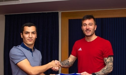 «Акжайык» объявил о продлении контракта с экс-игроком загребского «Динамо»