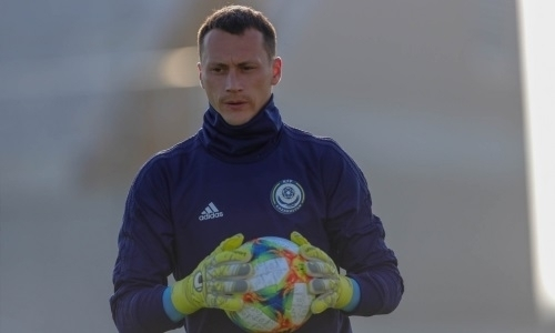 Известный вратарь рассказал о дебюте за сборную Казахстана и установке Билека на матч