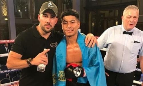 Вице-чемпион мира из Казахстана нокаутом выиграл четвертый бой в Лондоне