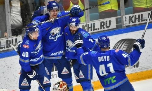 «Барыс» установил исторический рекорд по важному показателю в КХЛ