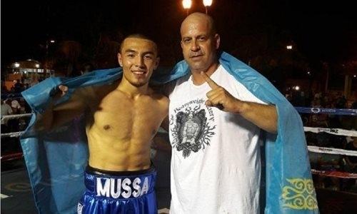 Непобежденный казахстанский «Воин» узнал соперника по очередному бою