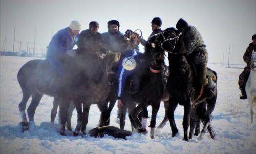 Соревнования по байге и кокпару прошли в Акмолинской области