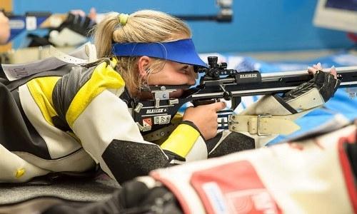 Казахстанка выиграла бронзовую медаль по пулевой стрельбе на этапе Кубка мира в Нью-Дели