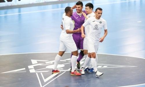 «Кайрат» разгромил «Инжу» в матче чемпионата РК