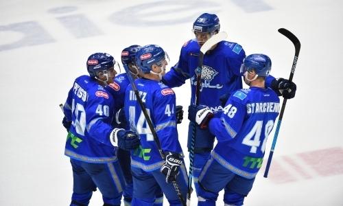 Хоккеисты «Барыса» продолжают входить в число самых результативных игроков плей-офф КХЛ