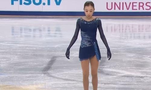 Казахстанская фигуристка Турсынбаева выиграла «серебро» Универсиады-2019