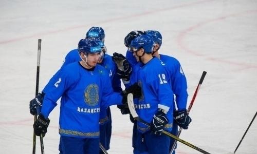 Сборная Казахстана заняла первое место с разницей шайб 43:5 в группе на Универсиаде-2019