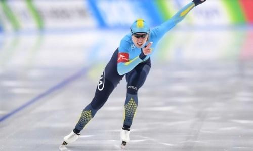 Екатерина Айдова установила новый рекорд Казахстана на Кубке мира в Солт-Лейк-Сити