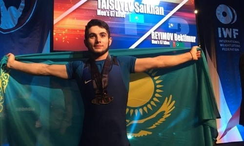 Казахстанец с мировым рекордом выиграл юношеский чемпионат мира по тяжелой атлетике в США