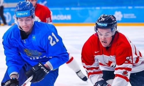 Казахстан сыграет с Канадой в матче за бронзовые медали Универсиады-2019