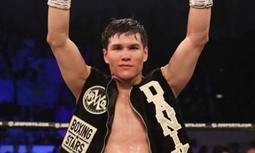 Данияр Елеусинов победил мексиканца с 37 победами в США