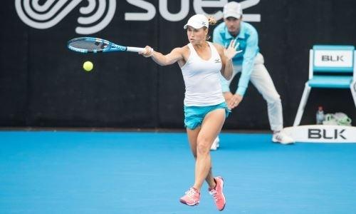 Путинцева закрепилась в ТОП-50 рейтинга WTA