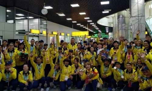 Казахстанцы завоевали более 30 медалей на специальных Олимпийских играх в Абу-Даби
