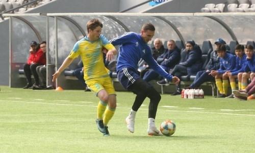 Футболисты «Астаны» провели товарищеский матч с «Астаной М»