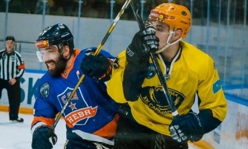«Сарыарка» во второй раз всухую на выезде переиграла победителя «регулярки» ВХЛ