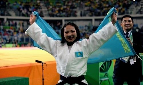 Казахстанская дзюдоистка завоевала «серебро» наГран-при вТурции