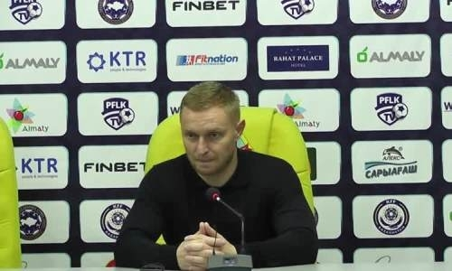 Тренер «Окжетпеса увидел ошибку судьи в матче с «Кайратом»
