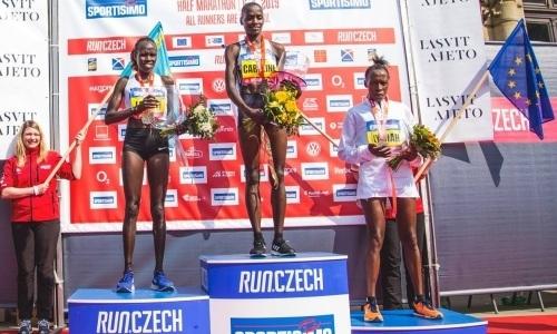 Казахстанка Кэролайн Кипкируи с рекордом выиграла престижный полумарафон в Европе