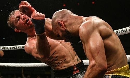 Видео кровавой бойни без перчаток российского экс-бойца UFC из команды «казахстанского двойника Макгрегора»