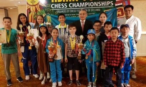 18 медалей привез Казахстан с чемпионата Азии