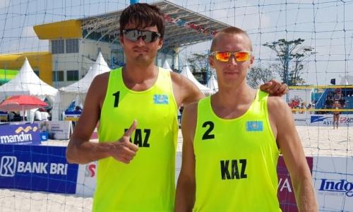 Казахстанские «пляжники» завоевали бронзовые медали намеждународном турнире