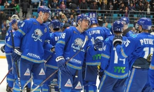 «Барыс» обошел лидеров в«рейтинге» доверия КХЛ