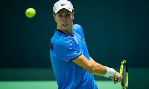 Казахстанский теннисист претендует на пятый титул ITF в сезоне