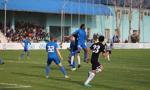 «Каспий» на выезде уступил «Мактааралу» в матче Первой лиги