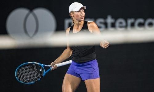 Путинцева сохранила прежнюю позицию рейтинга WTA