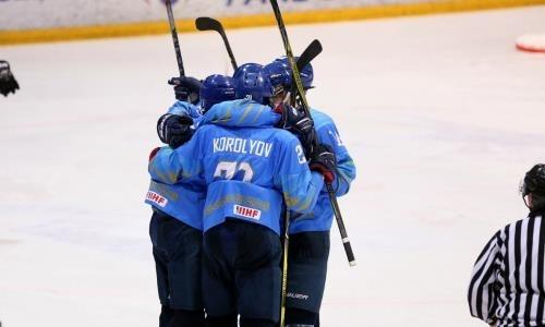 Сборная Казахстана разгромила Францию на юниорском ЧМ-2019