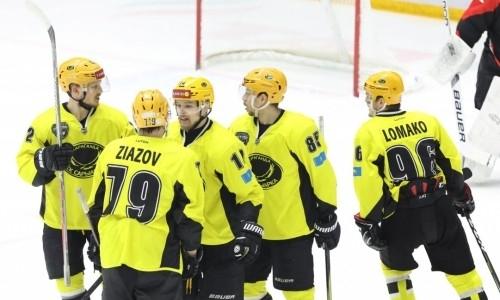 «Сарыарка» дважды отыгралась и выиграла второй матч финала плей-офф ВХЛ