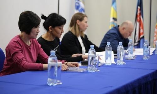 Состоялось заседание по чемпионату Казахстана среди женских команд