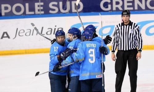 Сборная Казахстана устроила третий разгром подряд на юниорском ЧМ-2019