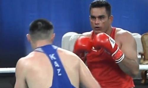 Видео первого боя вице-чемпиона мира в супертяжелом весе из Казахстана на ЧА-2019
