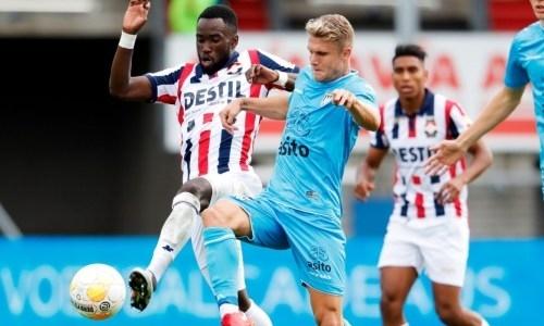 Футболист сборной Казахстана помог голландскому клубу победить в матче с двумя пенальти