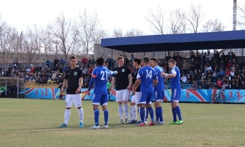 «Байконур» обыграл «Экибастуз» в матче Первой лиги