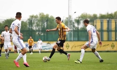 «Кайрат-Жастар» и «Кыран» поделили очки в матче Первой лиги