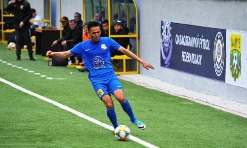 «Каспий» минимально обыграл «Жетысу Б» в матче Первой лиги
