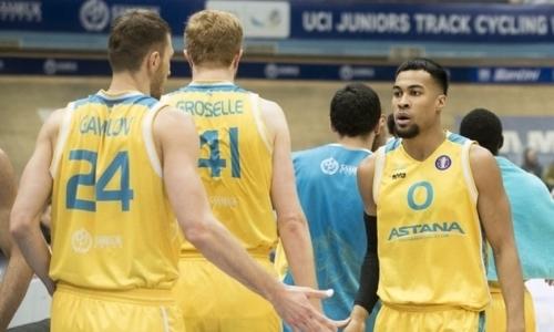 Какое место займет «Астана» по итогам Единой лиги ВТБ
