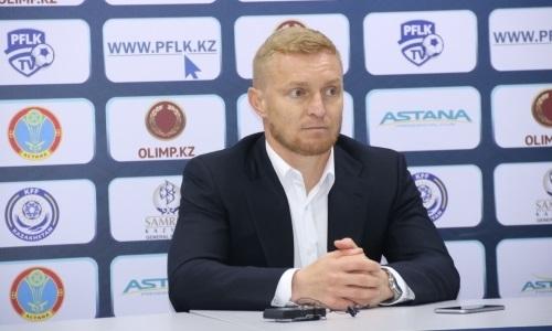 Карпович одержал первую победу в качестве главного тренера в Премьер-Лиге