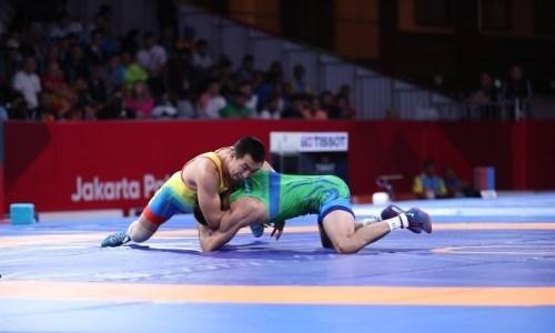 Казахстан завоевал еще одно «золото» на чемпионате Азии по вольной борьбе