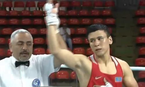 Видео боя, или Как победивший узбекского «Монстра» казах за 20 секунд «удосрочил» полуфиналиста ЧА-2019