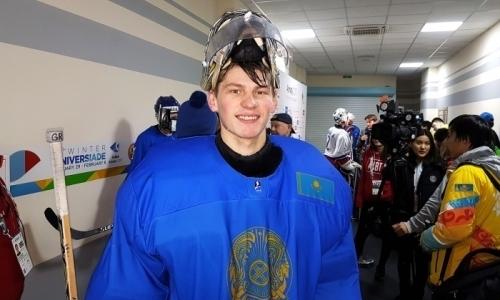 «Неплохо для первой игры». Голкипер сборной Казахстана — о матче с Беларусью