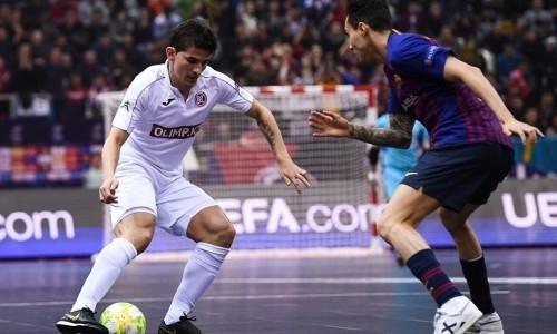 «Кайрат» разгромил «Барселону» и вышел в финал Лиги Чемпионов