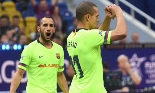 «Барселона» после разгрома от «Кайрата» выиграла «бронзу» Лиги Чемпионов
