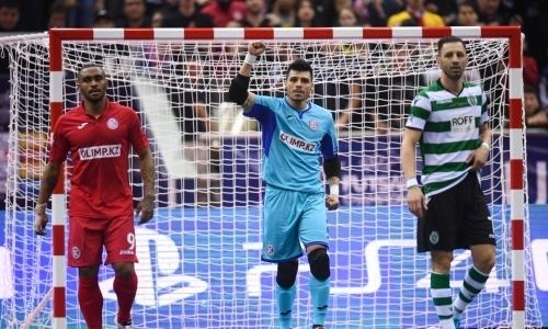 «Кайрат» проиграл «Спортингу» финал Лиги Чемпионов по футзалу в Алматы