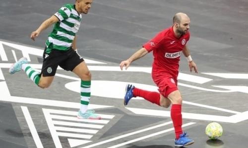 Гол игрока «Кайрата» попал в ТОП-4 лучших в «Финале четырех» Лиги Чемпионов